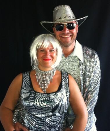 Glitter en glamour party kleding